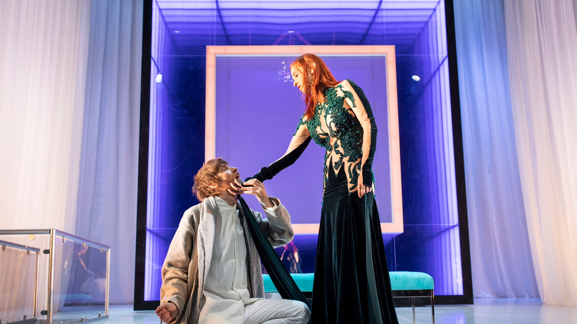 Paul Anderson and Audrey Fleurot in Tartuffe. Photo by Helen Maybanks 160.jpg