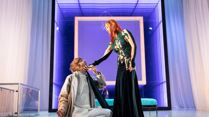 Paul Anderson and Audrey Fleurot in Tartuffe. Photo by Helen Maybanks 160.jpg