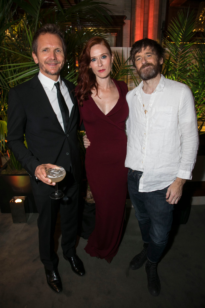 Sebastian Roche, Audrey Flaurot and Paul Anderson