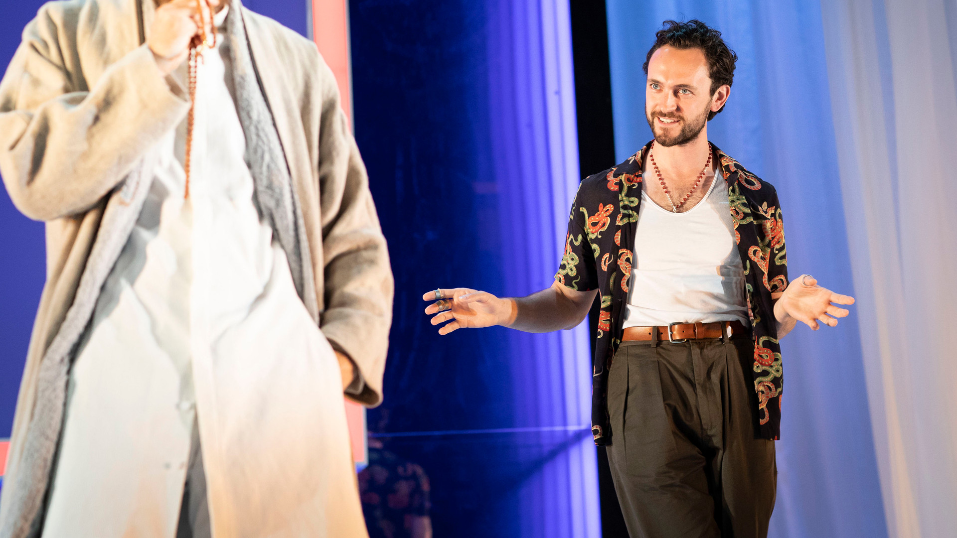 Paul Anderson and George Blagden (l-r) in Tartuffe. Photo by Helen Maybanks 162.jpg