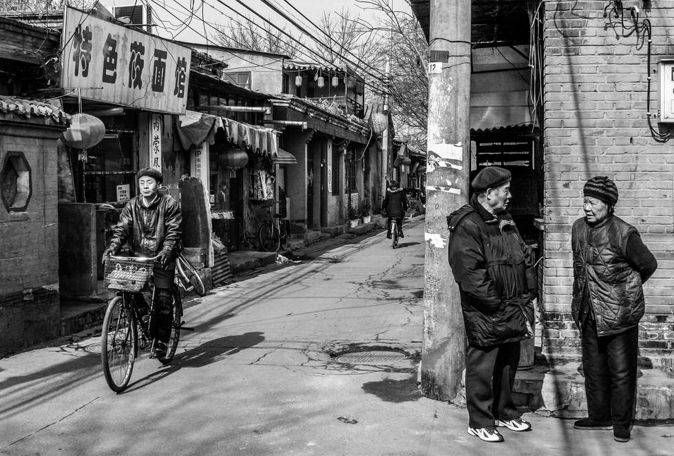 Hutong Street Scene