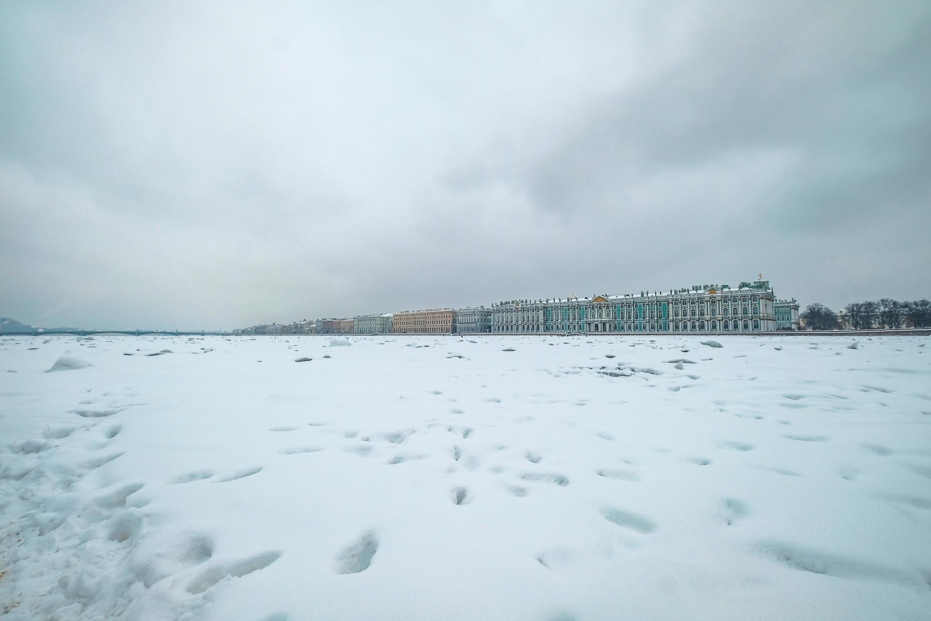 The Frozen Neva