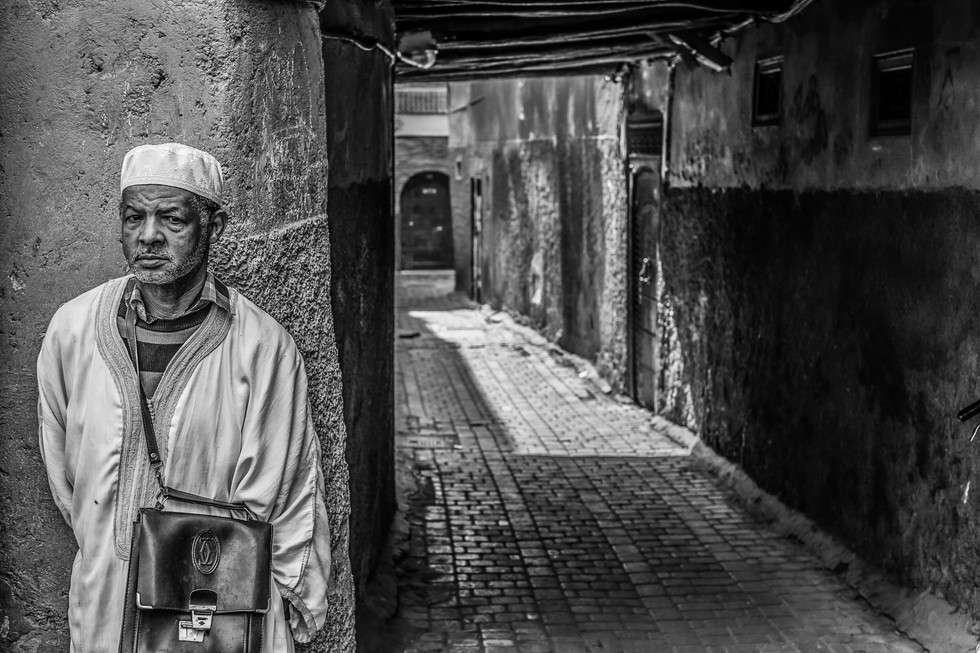 Marrakesh Street Scene