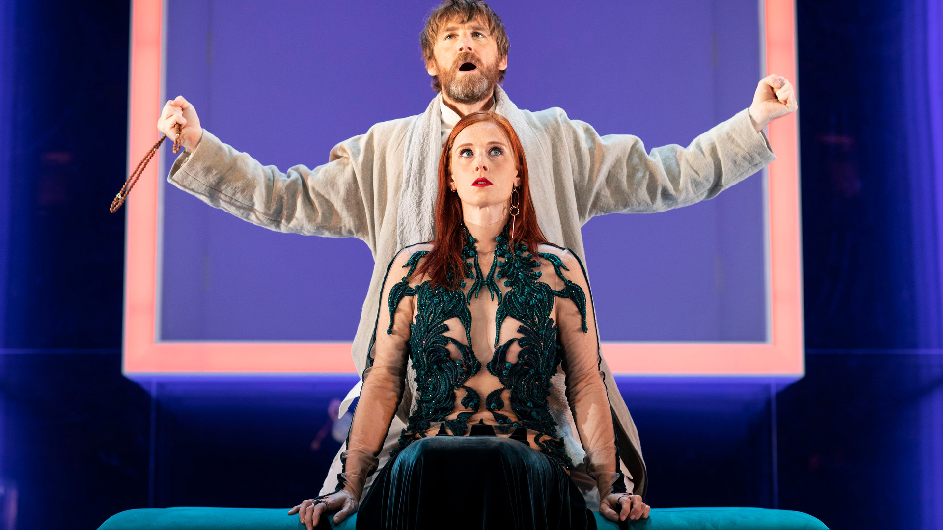 Paul Anderson and Audrey Fleurot in Tartuffe. Photo by Helen Maybanks 148.jpg