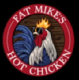 Fat Mikes Hot Chicken_LOGO_Wood BG_01.pn