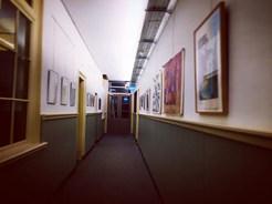 Visitando Galería y Residencia