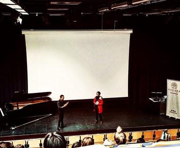 Xacara en la Universidad de Liverpool (UK)
