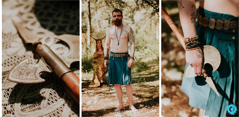 Shooting ethnique viking Martin