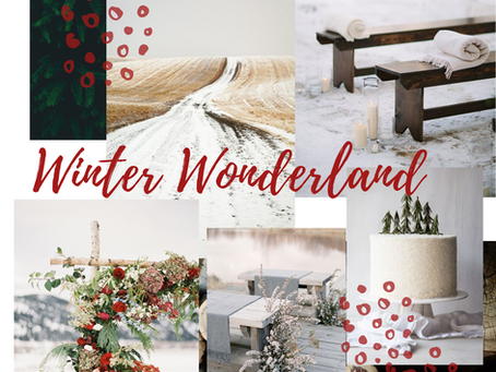 Winter Wonderland, un mariage en hiver