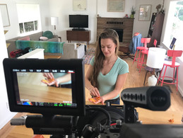 Andrea Nelson films new commercial- info coming soon!