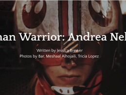"Andrea Nelson is Interviewed by 7500 Magazine, ""Woman Warrior: Andrea Nelson"""