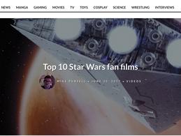 Star Wars: Destroyer ranked #3 on TOP FAN FILMS