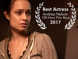"Andrea Nelson wins ""Best Actress"""