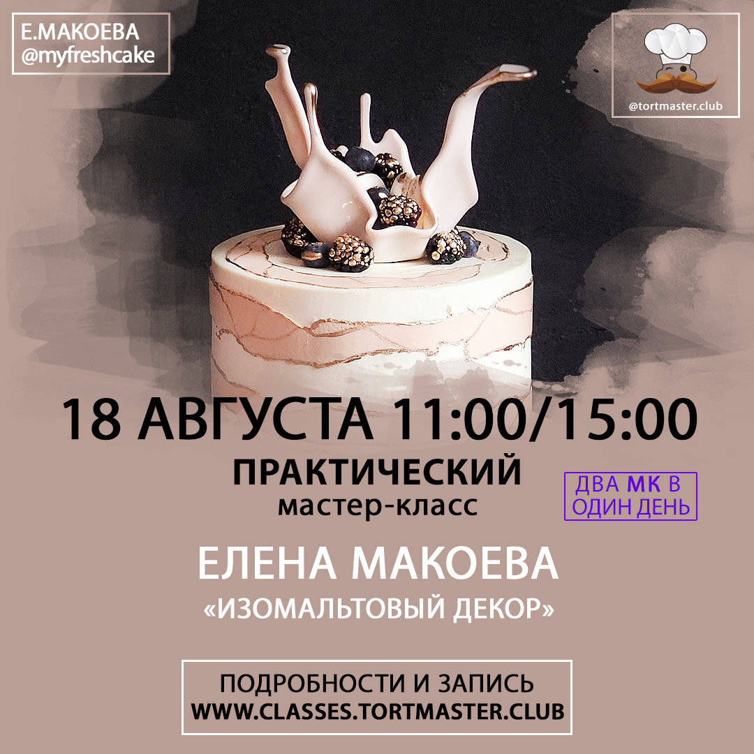 18.08 Е. Макоева   Изомальтовый декор