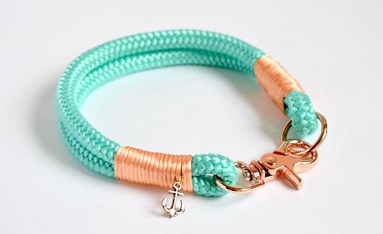 Collar clásico Sea Blue / hasta 38cm