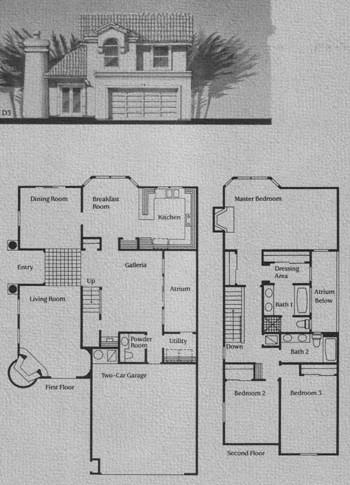 D Model Floor Plan