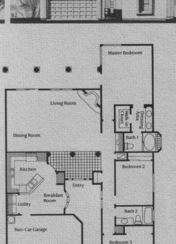 B Model Floor Plan