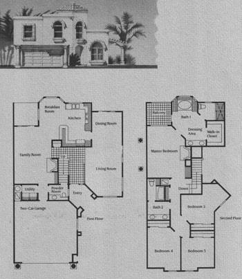 F Model Floor Plan