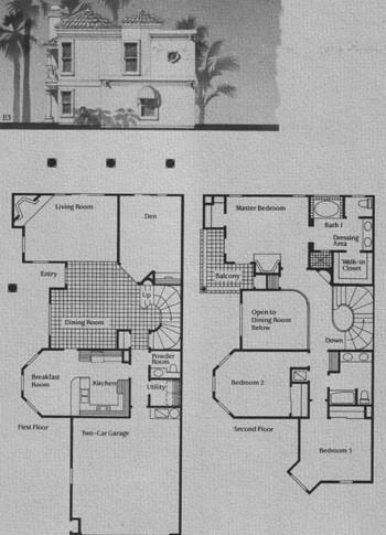 E Model Floor Plan