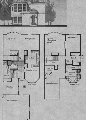 C Model Floor Plan