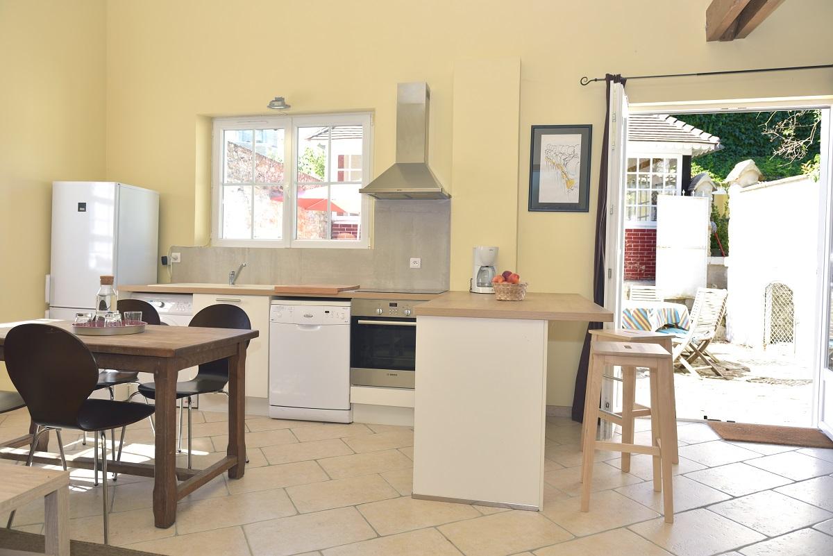 Espace cuisine - Salle à manger