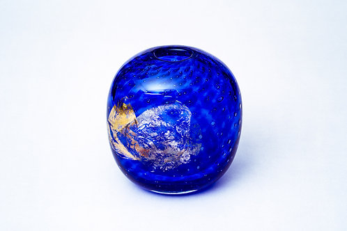 blaue Vase Hubert Hödl