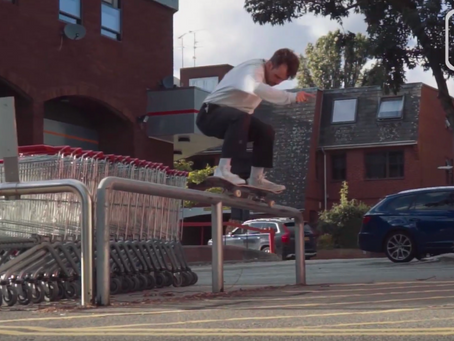 Charlie Spelzini 'Delirium' section from Death Skateboards.