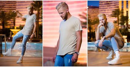 GQ Insider Vegas Social Shoot