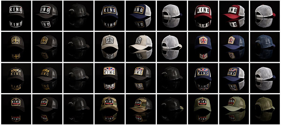 Online Product Shots For LIDS USA