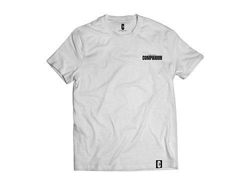 The Skateboarder's Companion - 'Basic' Logo Tee (White)