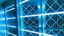 UV light Coil disinfection