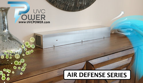 AIR DEFENSE (Compact)  - Standalone UVC Air Purifier - 54CFM