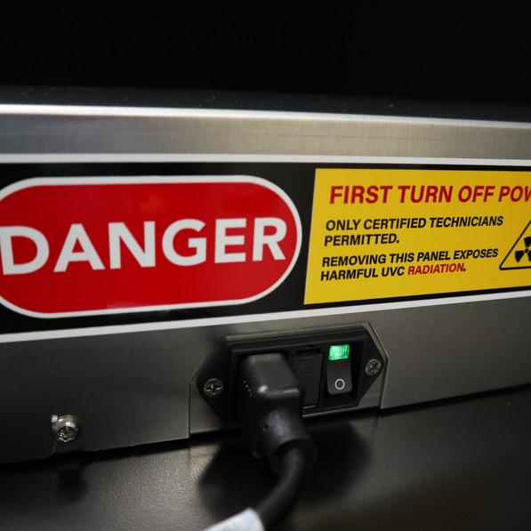 UVCX-ARDFNS Safety Features
