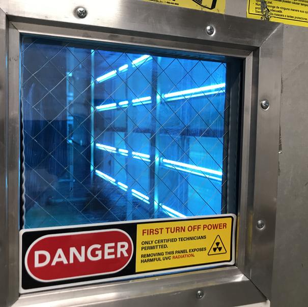 Large Format UV-C Installations