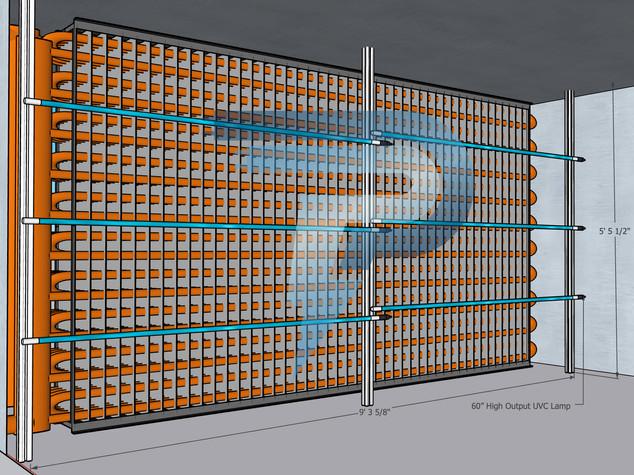 UV-C Coil Arrangments & 3D Layouts