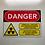 "Thumbnail: 5"" x 7"" UVC Safety Label (Transparent)"