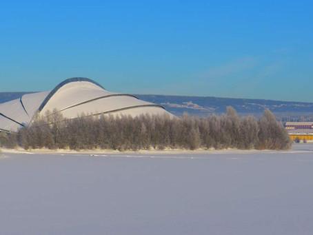 "Famous skating arena ""The Viking Ship"" goes CO2!"