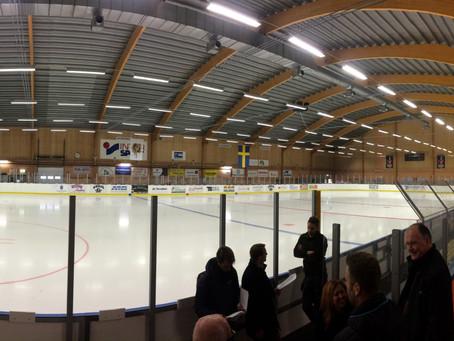 Eksjö économise plus de 50% d'énergie avec une patinoire rénovée