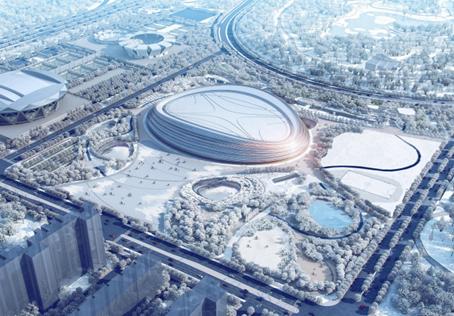 Vi bidrar till bästa möjliga is i OS-arenan i Peking