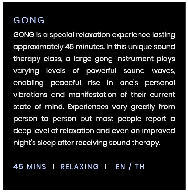 gong yoa class bangkok