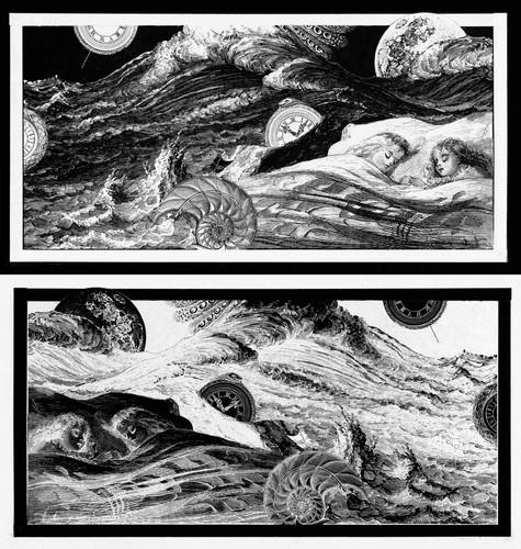 Collage traído del sueño