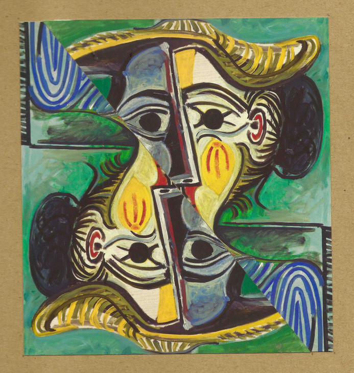 Rostro de Picasso