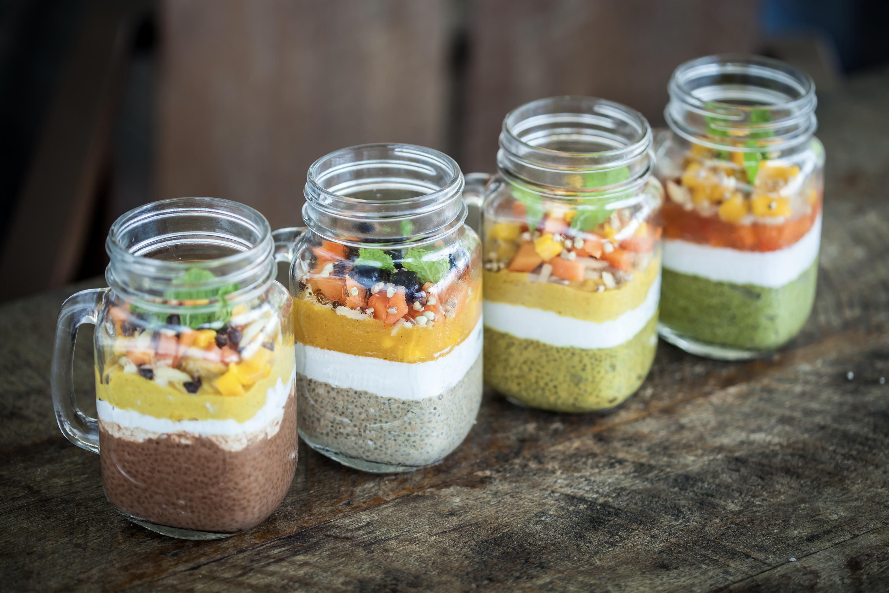 chia seed jars