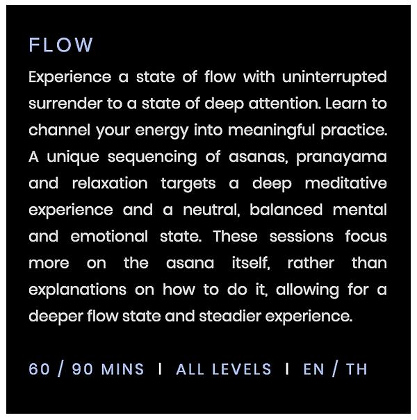 flow yoga class bangkok