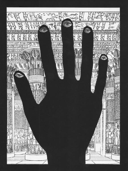 Encuentro mi mano