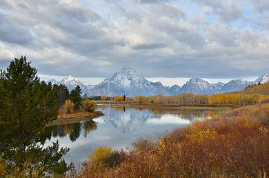 Tim's photo of the Teton Mountains.