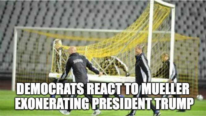 Democrats React to Mueller Exonerating P