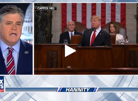 Sean Hannity: State of the Union shows Trump is for 'We the People,' Democrats are for hating Trump