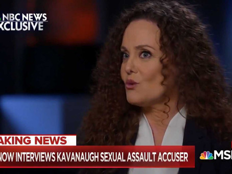 WATCH: Kavanaugh Accuser Swetnick Walks Back Some Of Her Explosive Allegations