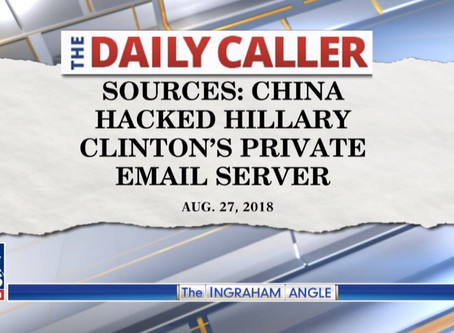Chinese company reportedly hacked Clinton's server, got copy of every email in real-time